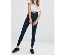 Lexy Second Skin - Superenge Mid-Rise-Jeans