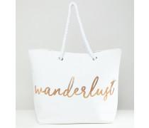 Wanderlust - Strandtasche