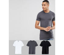 Tall - Muskelshirts im 3er-Pack