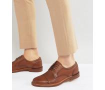 Derrade - Schuhe im Budapester Stil aus Leder