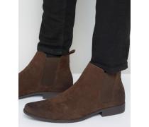 Chelsea-Stiefel in Wildlederoptik