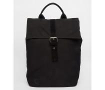 Canvas-Rucksack mit Umschlag