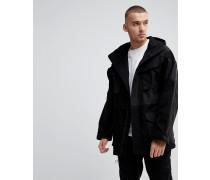Oversize-Jacke im Patchwork-Design