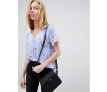 Bluse mit Kirschblütenprint