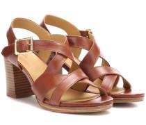 Sandalen Salma aus Leder