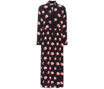 Crêpe-Kleid Harley mit Blumenprint
