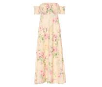 Kleid Iris aus Leinen und Baumwolle