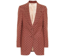 Blazer aus GG-Canvas