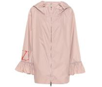 Jacke aus Nylon-Popeline