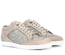Sneakers Miami aus Veloursleder