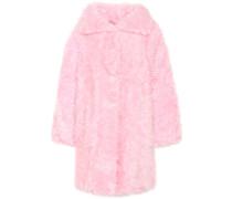 Mantel Swing aus Faux Fur