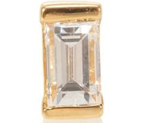 Einzelner Ohrring Diamond Baguette aus 18kt Gold
