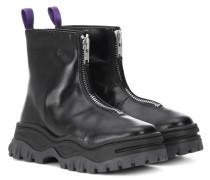 Ankle Boots Raven aus Leder