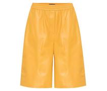 Shorts Tomy aus Leder