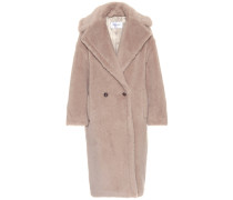 Mantel Ginata aus Alpakawolle und Wolle