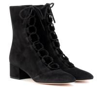 Exclusive bei mytheresa.com – Ankle Boots Delia aus Veloursleder