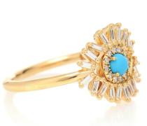 Ring Eye Wide Open aus 18kt Gelbgold