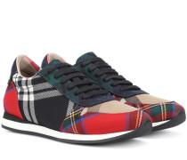 Karierte Sneakers