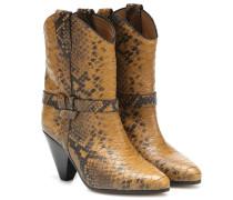 Ankle Boots Deane aus Leder