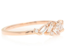 Ring Thin Playful Band aus 18kt Roségold