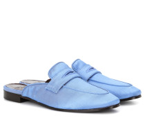 Slippers aus Satin