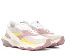 Sneakers Bounce aus Veloursleder