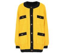 Oversize-Jacke aus Tweed