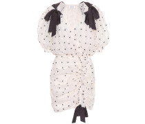 Kleid Painted Heart aus Baumwolle und Seide
