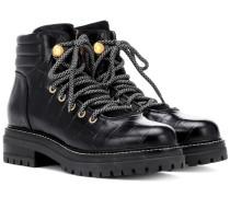 Ankle Boots Aligi aus Leder