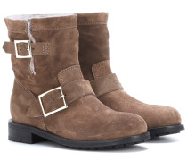 Ankle Boots Youth aus Veloursleder