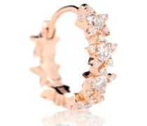Einzelner Ohrring 8mm Diamond Constellation Eternity Ring aus 18kt Rosegold