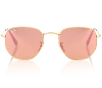 Aviator-Sonnenbrille Hexagonal