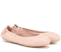 Ballerinas Gancini aus Leder