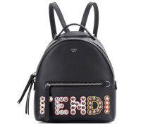 Mini-Rucksack aus Leder
