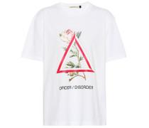 Bedrucktes T-Shirt aus Baumwolle