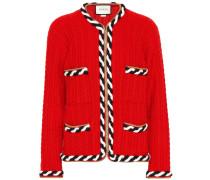Jacke aus Wolle und Kaschmir