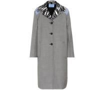 Mantel aus Seide und Baumwolle