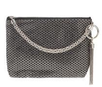 Verzierte Tasche Callie aus Veloursleder