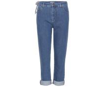Cropped Jeans aus Stretchdenim