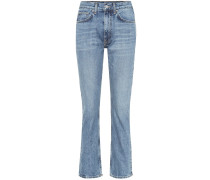High-Rise Cropped Jeans Orlando