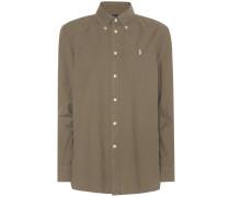 Button Down Hemd aus Baumwolle
