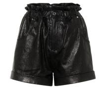 Shorts Shea aus Leder