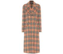 Mantel aus einem Alpakagemisch