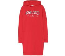 Sweatshirt-Kleid aus Baumwolle