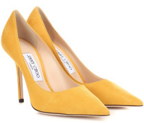 Pumps Love 100 aus Veloursleder