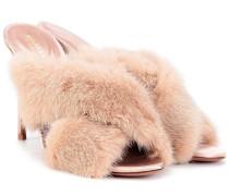Sandaletten Purr 105 mit Fell