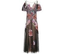 Verzierte Robe Petal aus Tüll