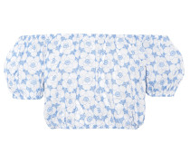 Off-Shoulder-Top Leandra aus Baumwolle