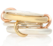 Ring Cici aus 18kt Gelbgold, 18kt Roségold und 925er Sterlingsilber