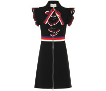 Minikleid aus Stretch-Jersey